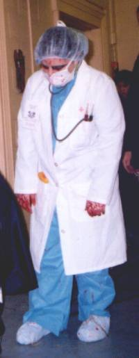 Scary Doctor Halloween Costume & Scary Doctor Halloween Costume Idea With Directions